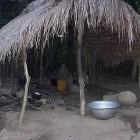 Kochplatz für Regenwetter