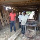Augustina´s Shop während der Bauphase
