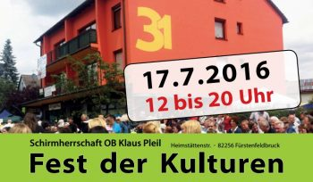 Plakat Fest der Kulturen 2016