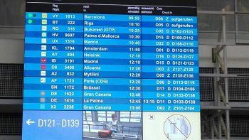 Abflug via Amsterdam